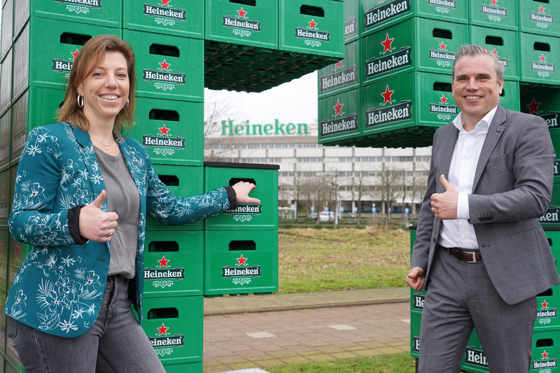 ISSNL Verlenging samenwerking Heineken - Op een voorspoedige samenwerking
