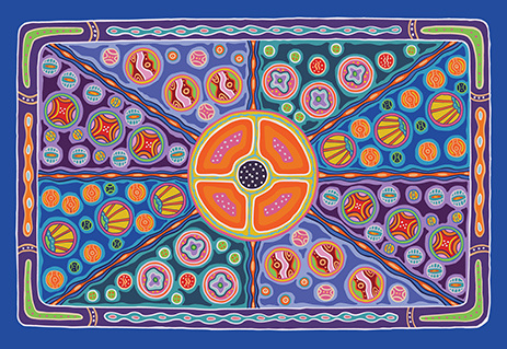 ISS_Indigenous Artwork Canvas